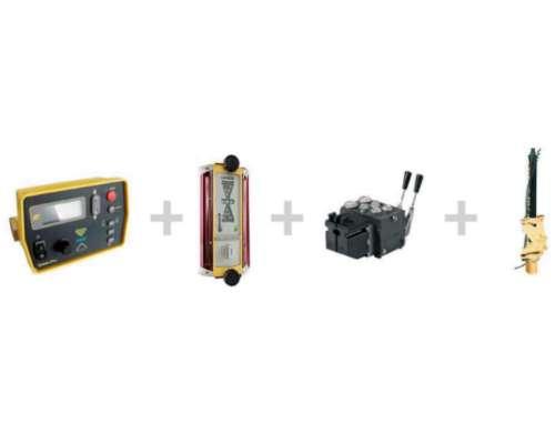 Emisor Láser Topcon L2 + Caja de Control Automática SAE