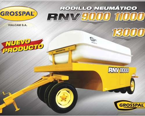 Rodillo Neumático RNV - Grosspal
