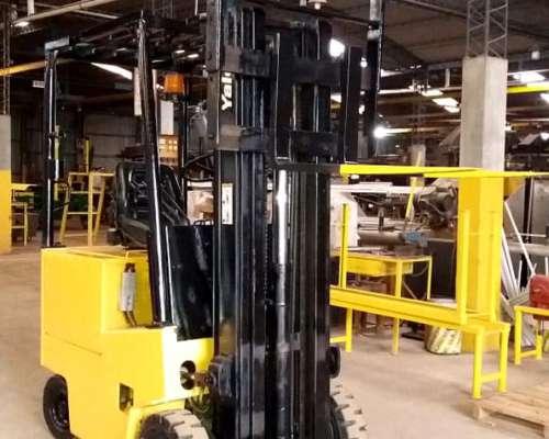 Autoelevador Electrico Yale Impecable, 1500kg, 4,70mts