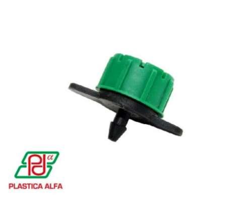 Goteros Ajustables 0 a 70 Lt/h - 0 a 100 Lt/h. Plástica Alfa