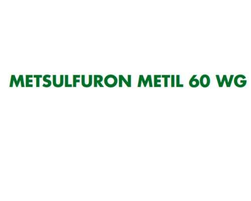 Metsulfurón Metil 60% Wp