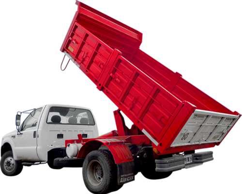 Carrocería Volcadora para Todo Tipo de Camion