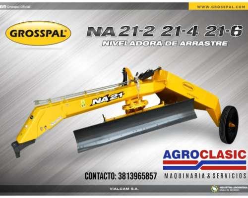 Niveladora de Arrastre Grosspal NA 21-2