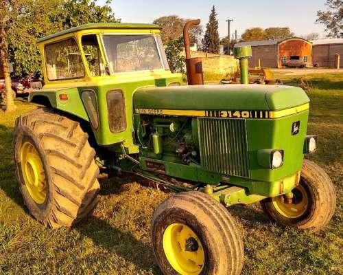 Tractor John Deere 3140 en Excelente Estado