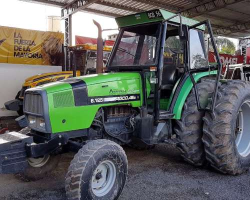 Tractor Agco Allis 6.125 – año 2006 – T/ Simple – CAB A/A