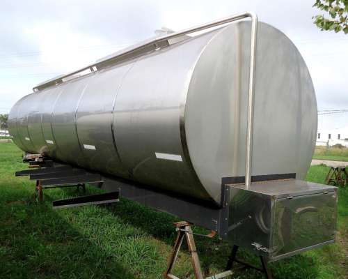 Vdo Chasis Lechero Termico Nuevo, de Acero INOX.4 Cisternas