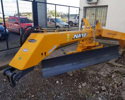 Niveladora de Arrastre Grosspal NA-12 Kit Hidraulico