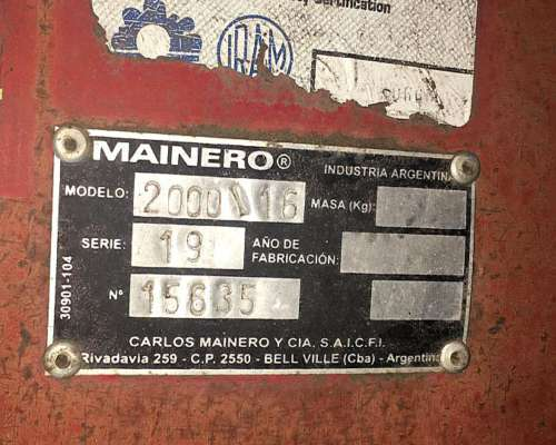 Maicero 8/70 1889 año 97 Impecable