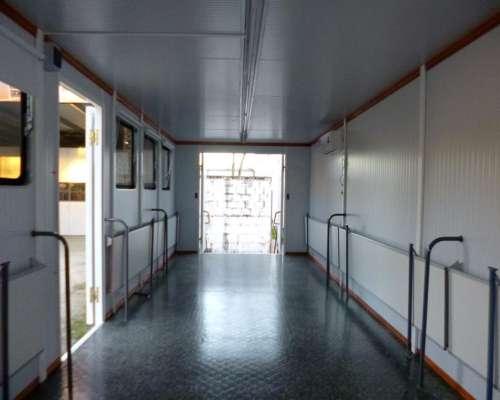 Trailer Aula Movil Sala Reuniones Casilla Sanitario Hospital