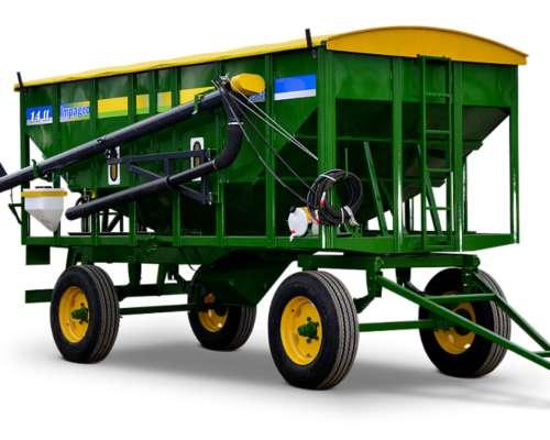 Acoplado Tolva para Fertilizantes y Semillas Impagro 14 TT