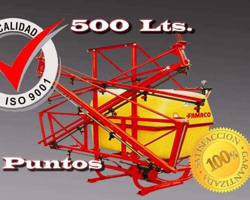 Pulverizadora 500 Lts .