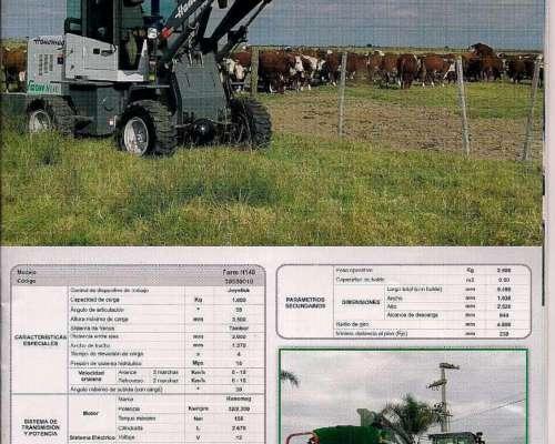Pala N Agricola Farm H140 Hanomag