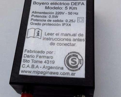 Energizador Boyero Electrificador Control Mascota 5 KMS -