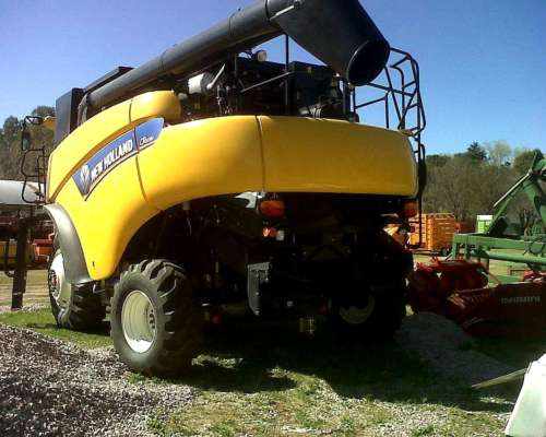 Cosechadora New Holland CR 6080
