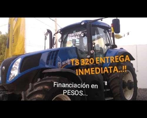 Tractor New Holland T8 320 Disponible. Entrega Inmediata.