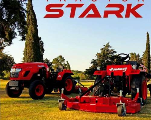 Tractor Hanomag Stark 25 HP 3 Ptos, Toma Fuerza