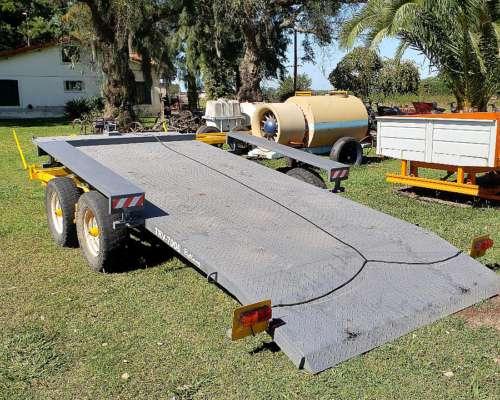 Tráiler Balancin 6 TN Basculante para Camionetas