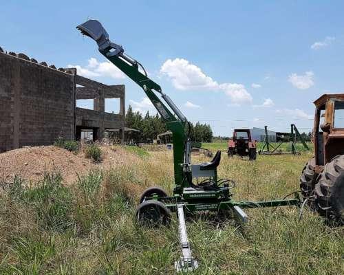 Retroexcavadora para Tractor con Chasis