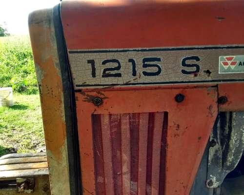 Tractor Massey 1215 con Duales