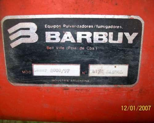 Pulverizadora de Arrastre Barbuy