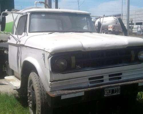 Camión Atmosférico Dodge Funcionando