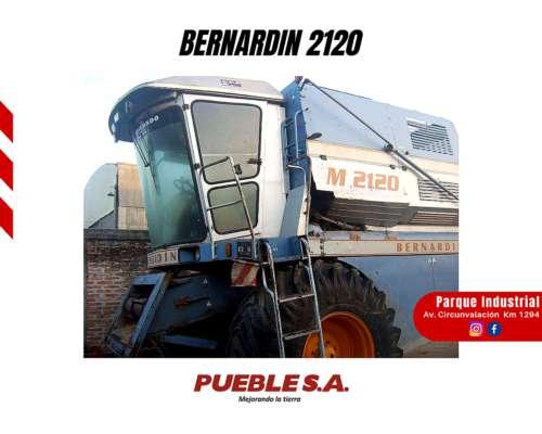Cosechadora de Granos Bernardin 2120 año 2003 - Plan Cheque