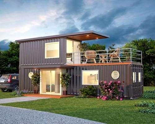 Casa Container De 60m2 Agroads