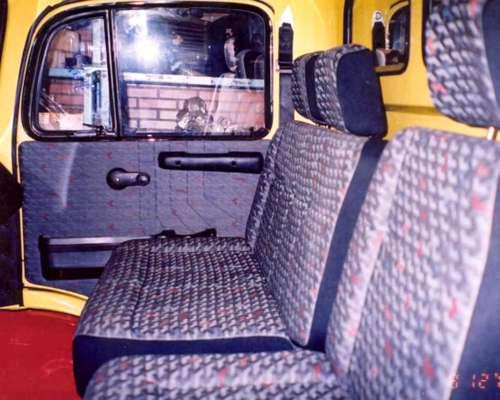 Asientos Cama Butaca Mercedes Benz 1114 // 1518 Butacon Kit