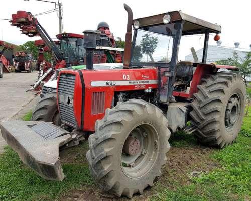 Tractor Massey Ferguson 299 / 4X4 / C Levante, Plataformado
