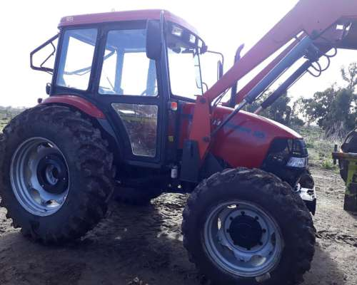 Case Farmall 95 con Pala