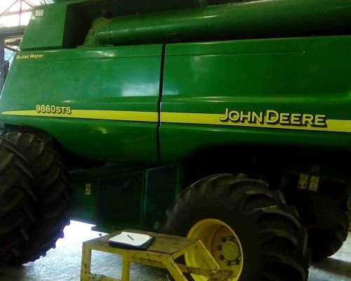 Cosechadora John Deere 9860