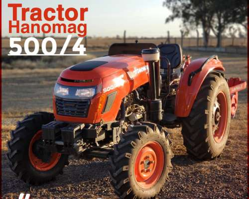 Tractor Nuevo Hanomag Stark 500/4