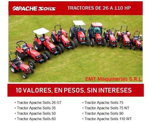 Apache Solis 35 HP - 5 Cuotas en Pesos, sin Intereses