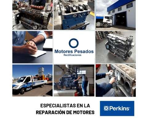 Reparación, Servicio y Repuestos para Motores Perkins