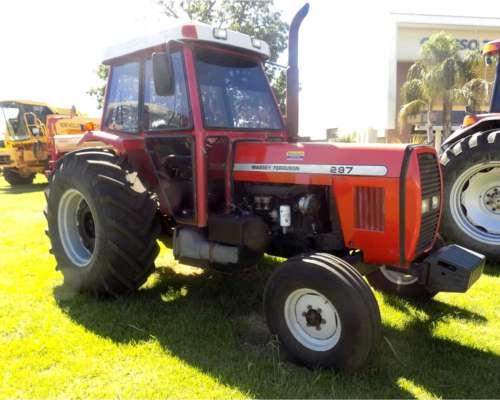 Tractor Massey Ferguson 297, año 2005