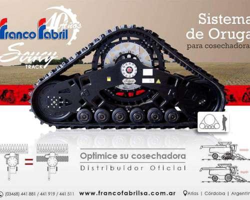 Sistema De Orugas Para Cosechadoras Soucy Track