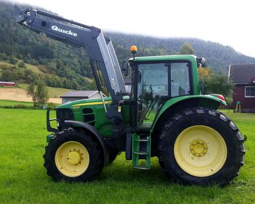 Tractor John Deere 6630 Premium con Cargador ANO 2007