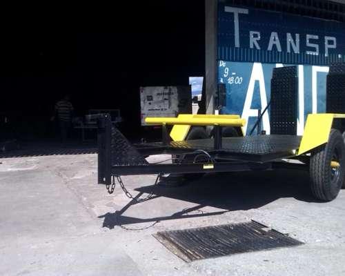 Bueno Trailer para Tractor Autoelevador