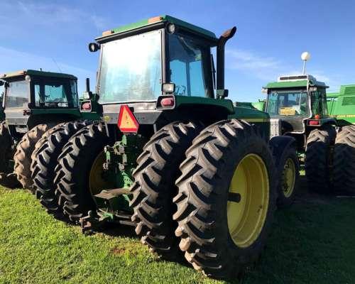 Tractor John Deere 4760, Doble Tracción, Duales, 1999