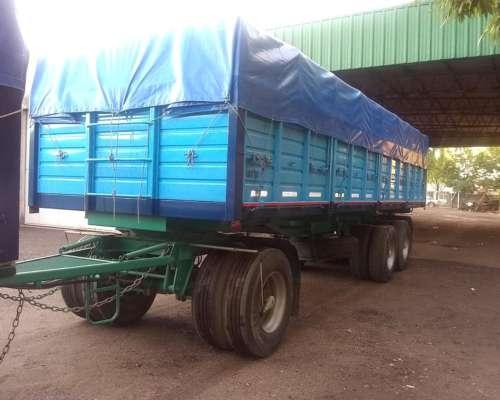 Carrocería y Acoplado Volcador Montebras
