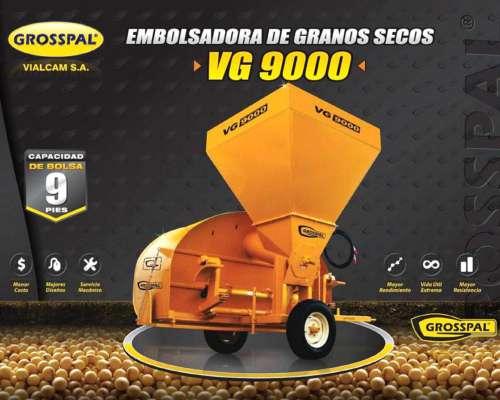 Embolsadora de Granos Secos Grosspal VG9000 con Tapas