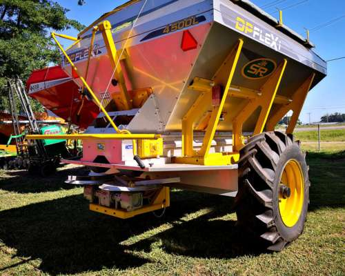 Fertilizadora SR 4500 Lts - Acero Inoxidable