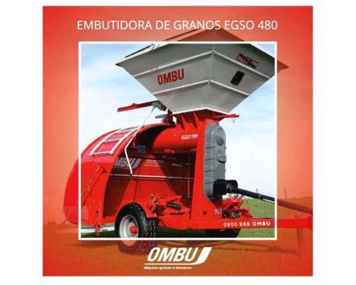 Embolsadora Ombu Egso 480 Nueva