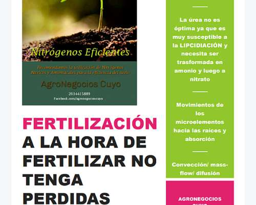 Fertilizante Mezcla Nitrogenado ( Nitrodoble/hidrocomplex)