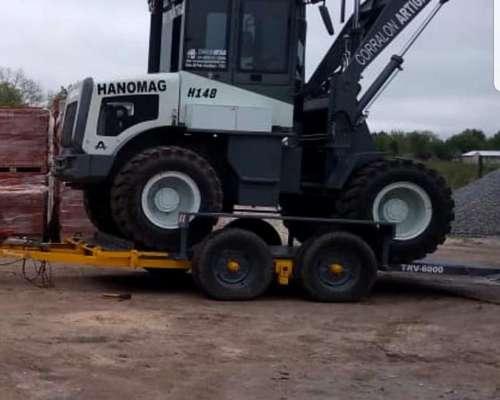 Bellmaq - Trailer TRV-6000 con Baranda Desmontable