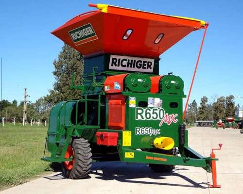 Quebradora Embolsadora de Grano Quebrado R650mxa - Richiger