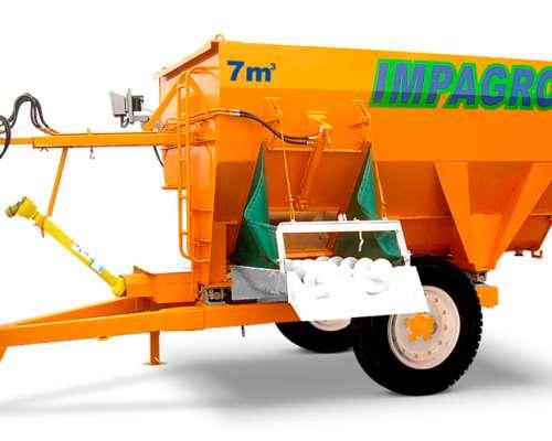 Mezclador y Distribuidor de Raciones Mixer Impagro PV 7000