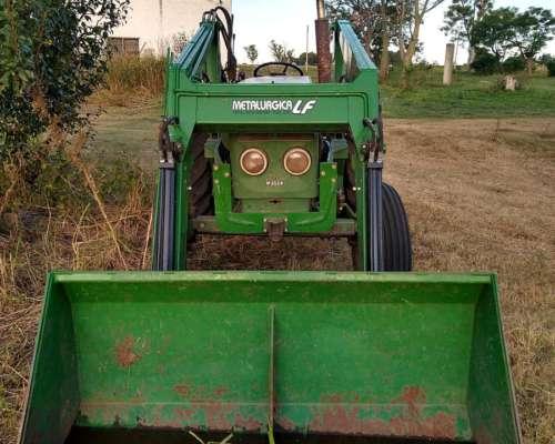 Deutz A46 Motor 2114 con Pala Frontal de 1/2 M3
