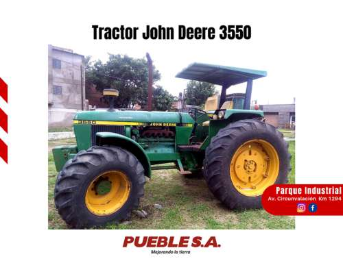 Tractor John Deere 3550 Doble Traccion (4x4) - Plan Cheque
