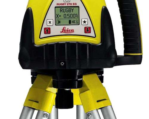 Laser, Control De Profundidad Retroexcavadora